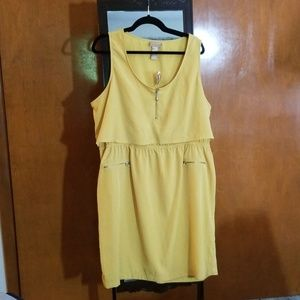 Mustard Color dress